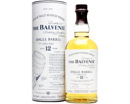 Виски Balvenie Single Barrel First Fill 12 Years Old in tube 0.7 л