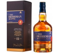 Виски The Irishman 12 Years Old Single Malt gift box 0.7 л