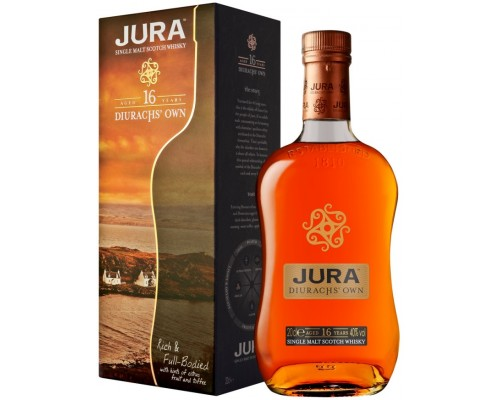 Виски Isle Of Jura 16 years old gift box 0.7 л