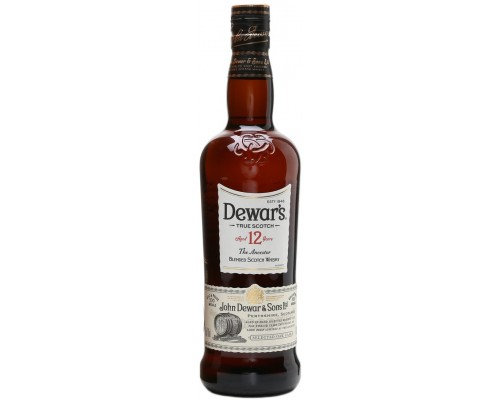 Виски Dewar's 12 years old 0.5 л
