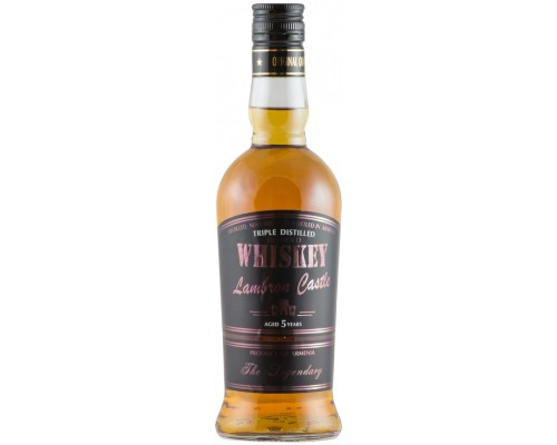 Виски Lambron Castle Blended Whiskey Aged 5 Years 0.5 л