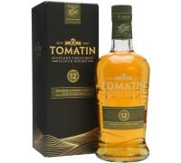 Виски Tomatin 12 Years Old gift box 0.7 л
