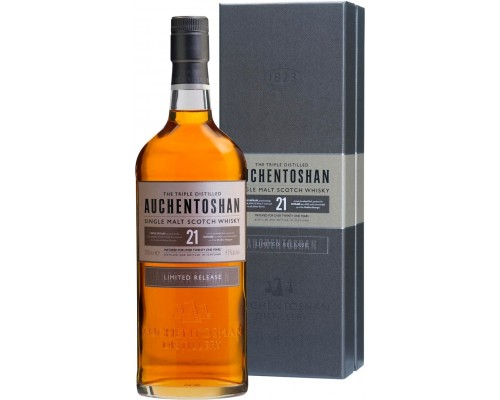Виски Auchentoshan 21 Years Old gift box 0.7 л