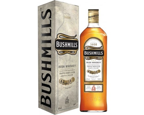 Виски Bushmills Original with box 0.7 л