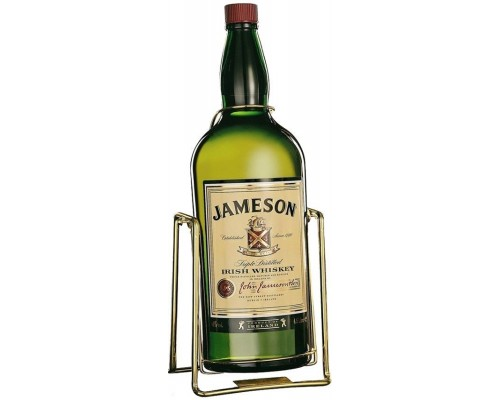 Виски Jameson with a pouring stand 4.5 л