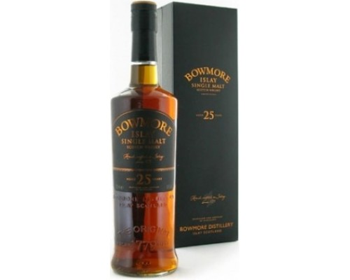 Виски Bowmore 25 Years Old gift box 0.7 л