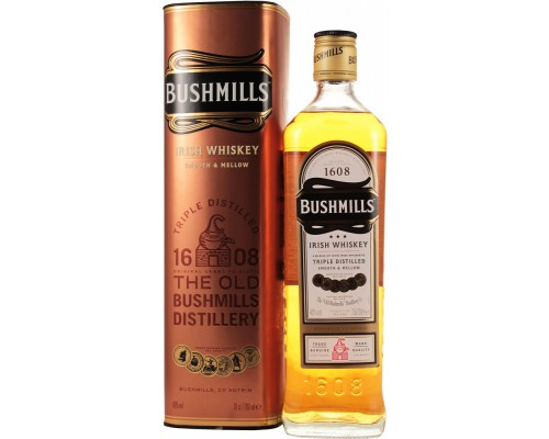 Виски Bushmills Original with metal box 0.7 л