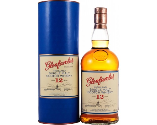 Виски Glenfarclas 12 years In Tube 0.7 л