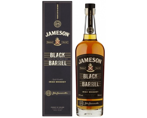 Виски Jameson Black Barrel gift box 0.7 л