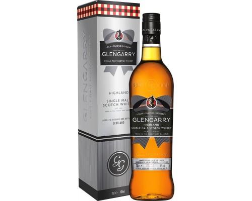 Виски Glengarry Single Malt gift box 0.7 л