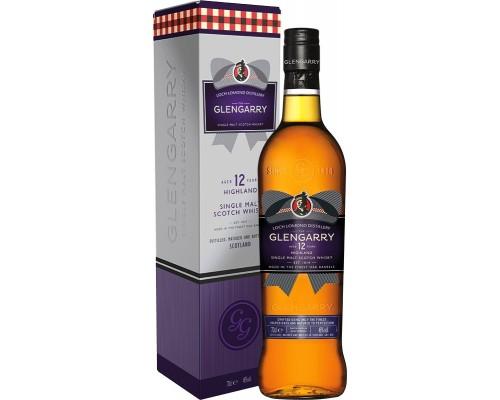 Виски Glengarry 12 Years Old gift box 0.7 л