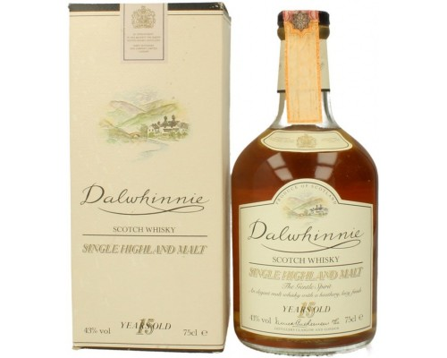 Виски Dalwhinnie Malt 15 years old with box 0.75 л