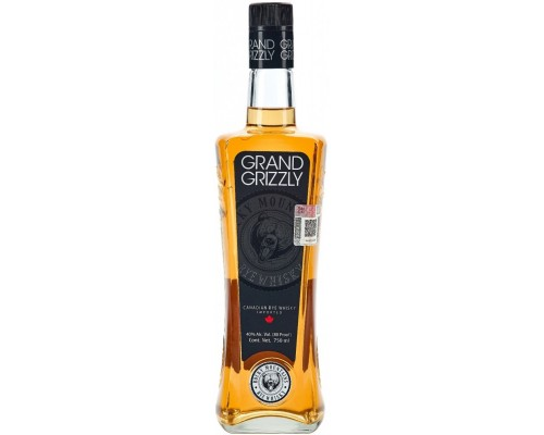 Grand Grizzly Rye Whisky 0.75 л