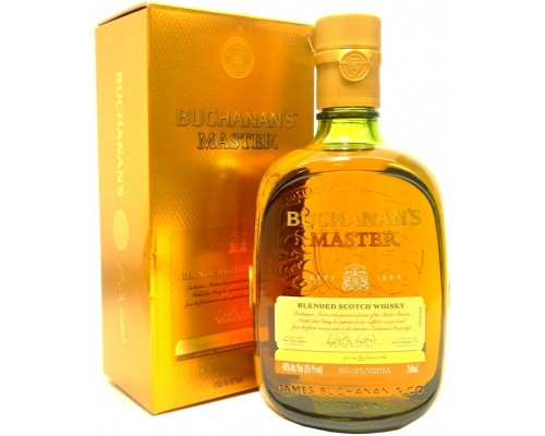 Виски Buchanan's Master gift box 0.75 л