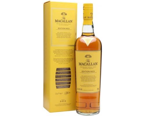 Виски The Macallan Edition №3 gift box 0.7 л