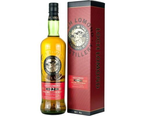 Виски Loch Lomond 12 Years Old gift box 0.7 л