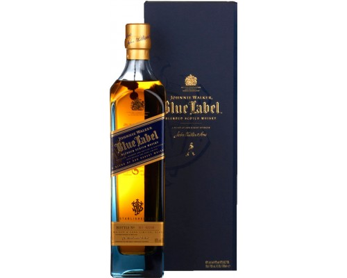Виски Blue Label with box 0.7 л