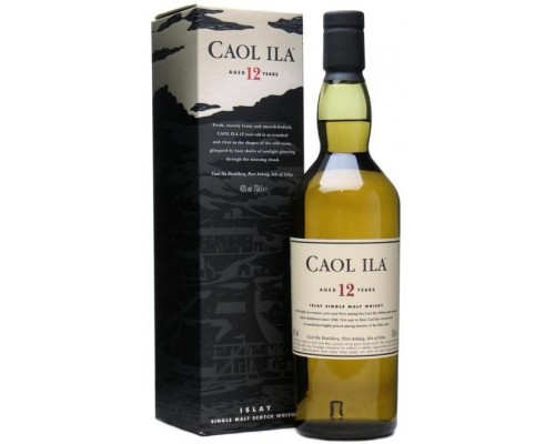 Виски Caol Ila malt 12 years old with box 0.7 л
