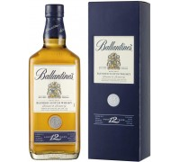 Виски Ballantine's 12 Years Old with box 0.7 л