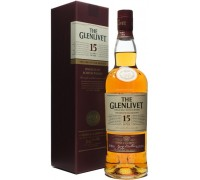 Виски The Glenlivet 15 years with box 0.7 л