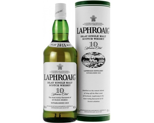 Виски Laphroaig Malt 10 years old with box 0.7 л