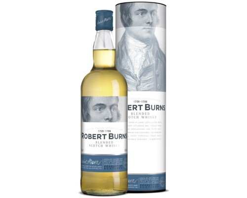 Виски Robert Burns Blend In Tube 0.7 л