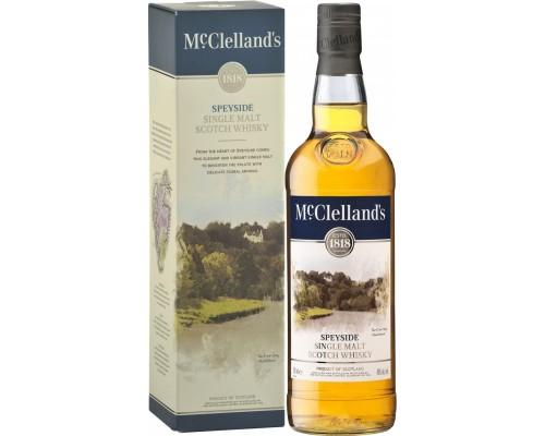 Виски McClelland's Speyside gift box 0.7 л