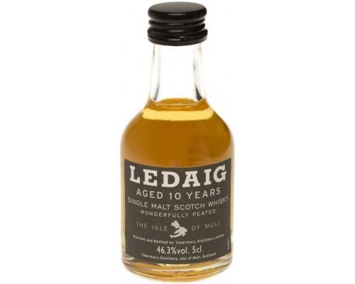 Виски Ledaig Aged 10 Years (46.3%) 50 мл