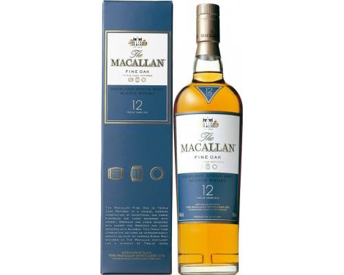 Виски Macallan Fine Oak 12 Years Old with box 0.7 л