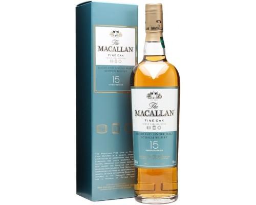 Виски Macallan Fine Oak 15 Years Old with box 0.7 л