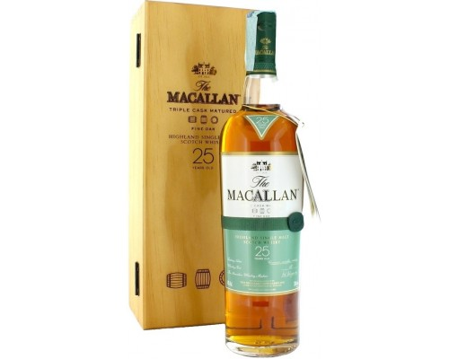 Виски Macallan Fine Oak 25 Years Old with box 0.7 л