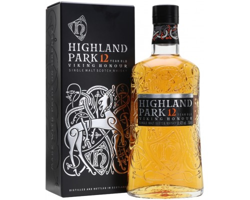 Виски Highland Park Viking Honour 12 Years Old with box 0.7 л