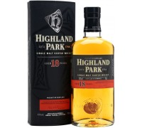 Виски Highland Park 18 Years Old with box 0.7 л