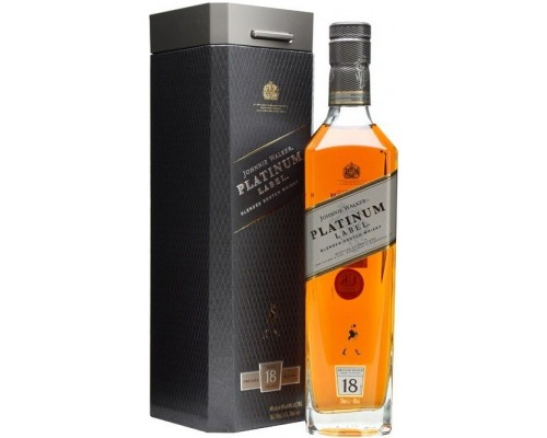 Виски Johnnie Walker Platinum Label 18 Years Old gift box 0.7 л