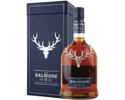 Виски Dalmore 18 Years Old gift box 0.7 л