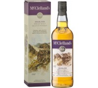 Виски McClelland's Highland gift box 0.7 л