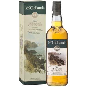 Виски McClelland's Islay gift box 0.7 л