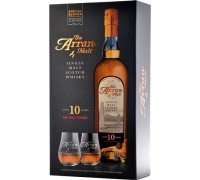 Виски Arran 10 years gift box with 2 glasses 0.7 л