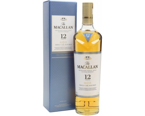 Виски Macallan Triple Cask Matured 12 Years Old gift box 0.7 л