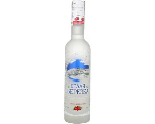 Водка Белая Березка Морозная Клюква 0.5 л