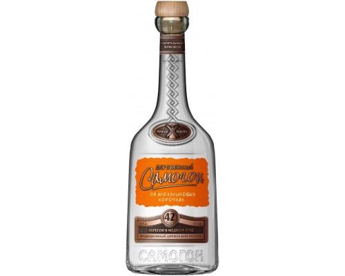 Водка Деревенский Самогон Овсяной на апельсиновых корочках 0.5 л