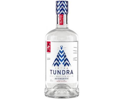 Водка Tundra Authentic 0.7 л
