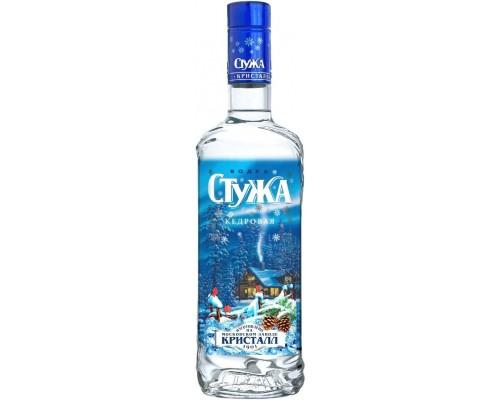 Водка Стужа Кедровая 0.7 л