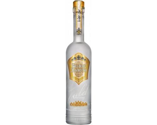 Водка Белое золото Премиум 0.7 л