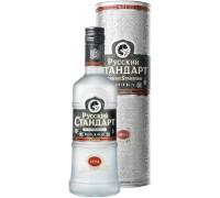 Водка Русский Стандарт Оригинал в подарочной тубе 0.7 л