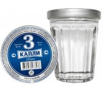 Водка 3 Капли в стакане 100 мл