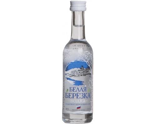 Водка Белая Березка 50 мл