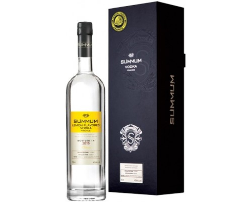 Водка Summum Lemon Flavored gift box 0.75 л