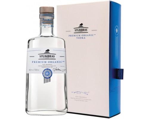 Водка Stumbras Premium Organic gift box 0.7 л