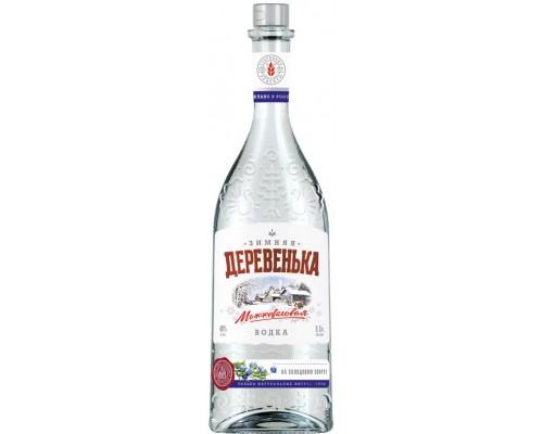 Водка Зимняя деревенька Можжевеловая 0.5 л